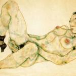 Egon Schiele – Donna Con Turbante Verde – 1914