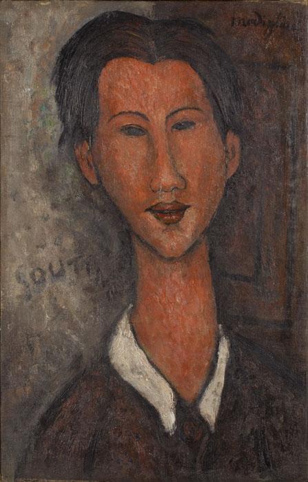 Ritratto di Soutine, 1917