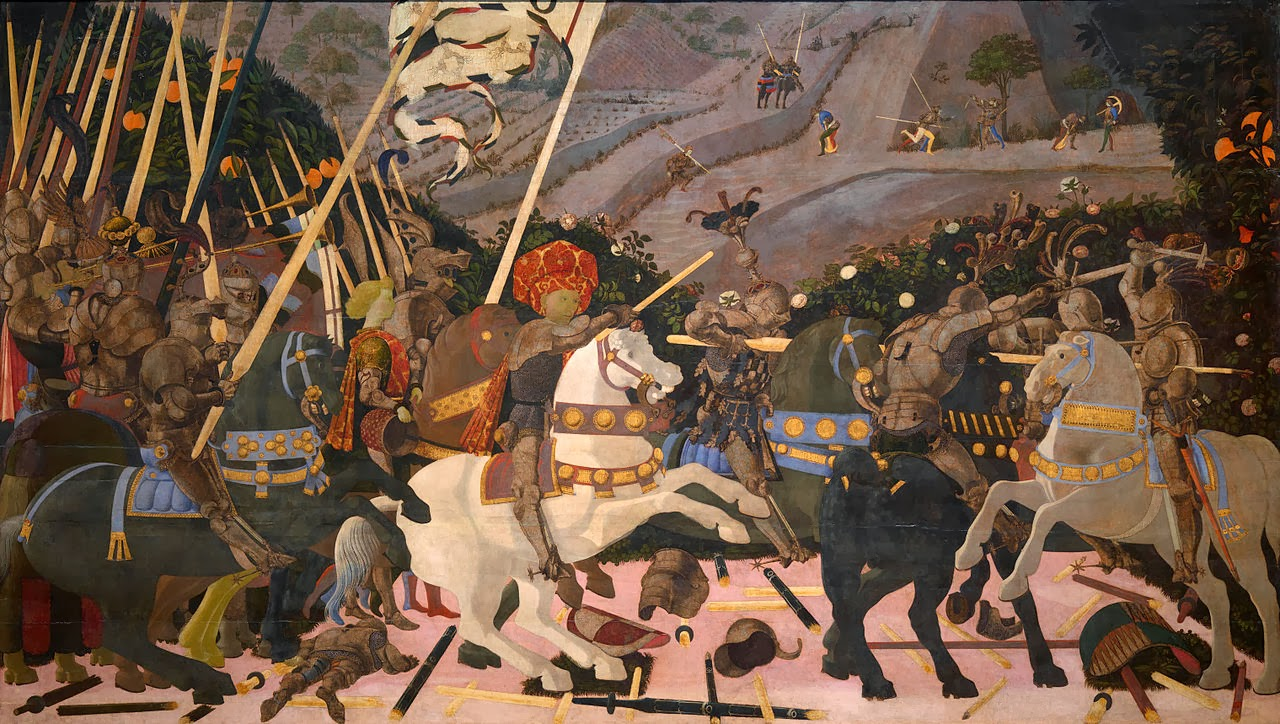 29 - Paolo Uccello, Battaglia di San_Romano, National Galley, Londra
