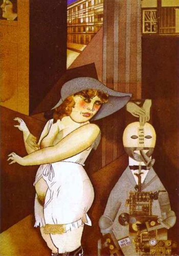 DGeorge GroszDaum marries her pedantic automaton George in May 1920