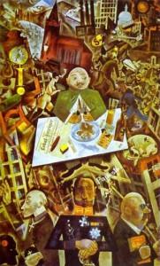 George Grosz, Germany--A Winter's Tale (1917-19