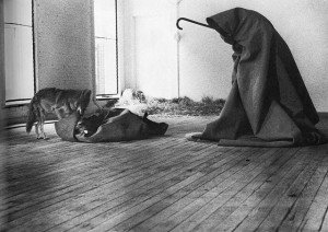 "Joseph Beuys, ""I Like America and America Likes Me"" (Performance, 1974)"