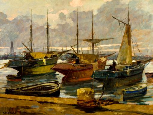 Renato Natali, Sera al porto
