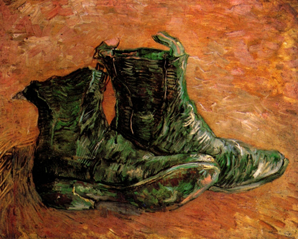 Vincent-van-Gogh-A-Pair-of-Shoes-1888