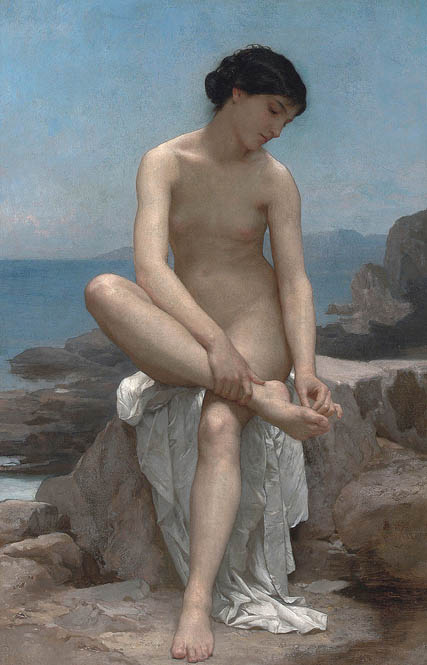 WilliamBouguereau-TheBather-(1879)