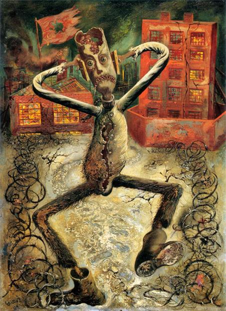 el hombre gris bailando 1949 grosz
