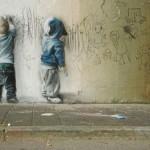 I graffiti di Banksy – Guerrilla Art