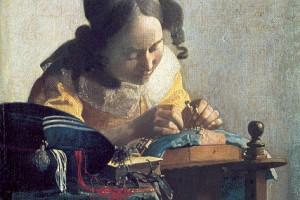 Jan Vermeer – La Merlettaia – 1670
