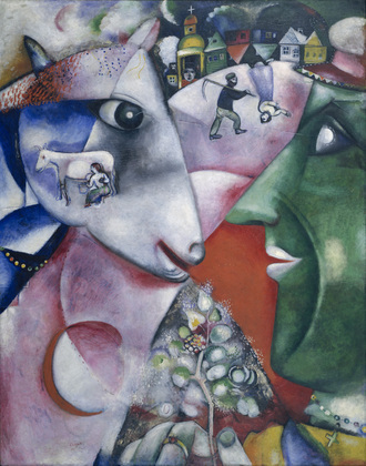 Marc Chagall, 1911, I and the Village