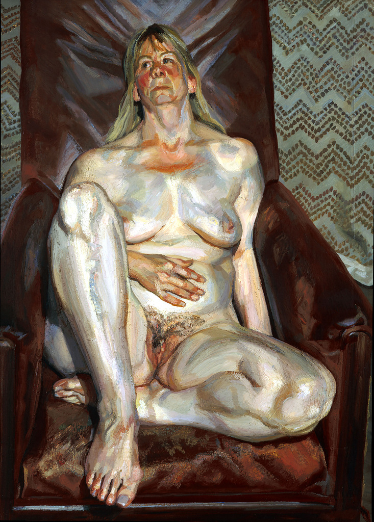 La pittura scolpita di Lucian Freud   McArte