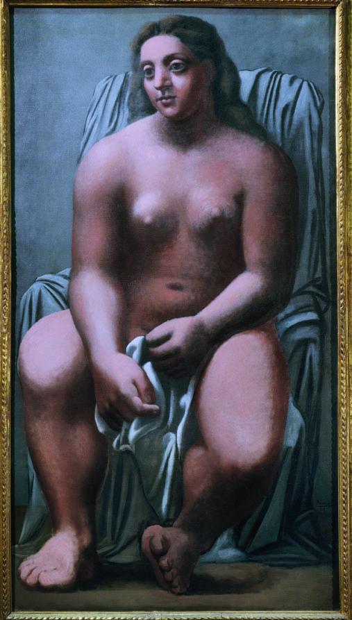 Pablo Picasso, Grande baigneuse, 1921