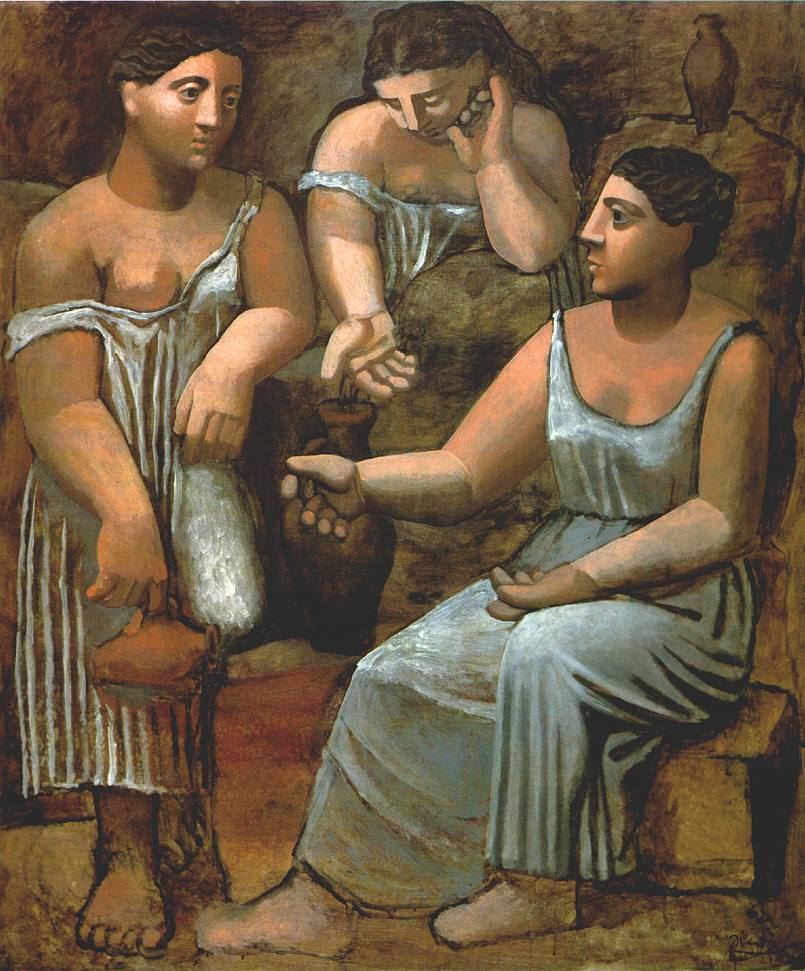 Picasso_Three_women_a the spring 1921