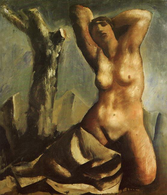 mario sironiNudo con albero 1930