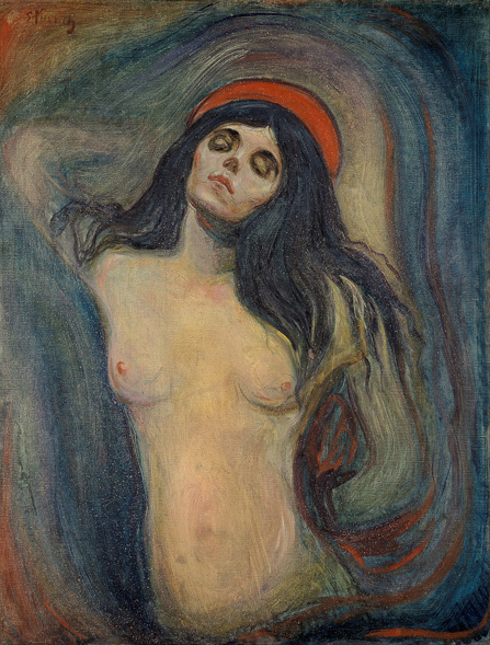 Edvard_Munch_-_Madonna 1894 0oslo munch museum 90x68