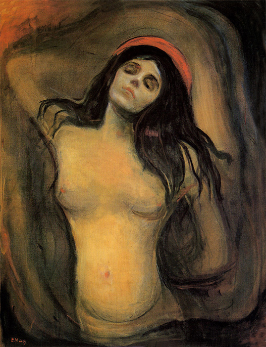 Edvard_Munch_-_Madonnanational gallery of norway oslo 1894 95 91x70,5