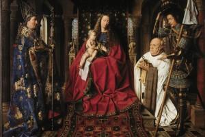 Jan Van Eyck – Madonna Del Canonico Van Der Paele – 1436