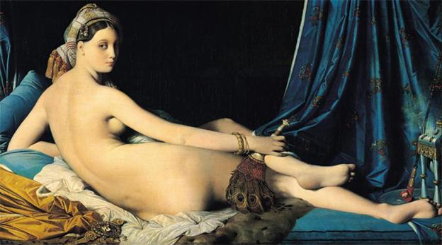 Jean-Auguste-Dominique-Ingres-La-Grande-Odalisque1814