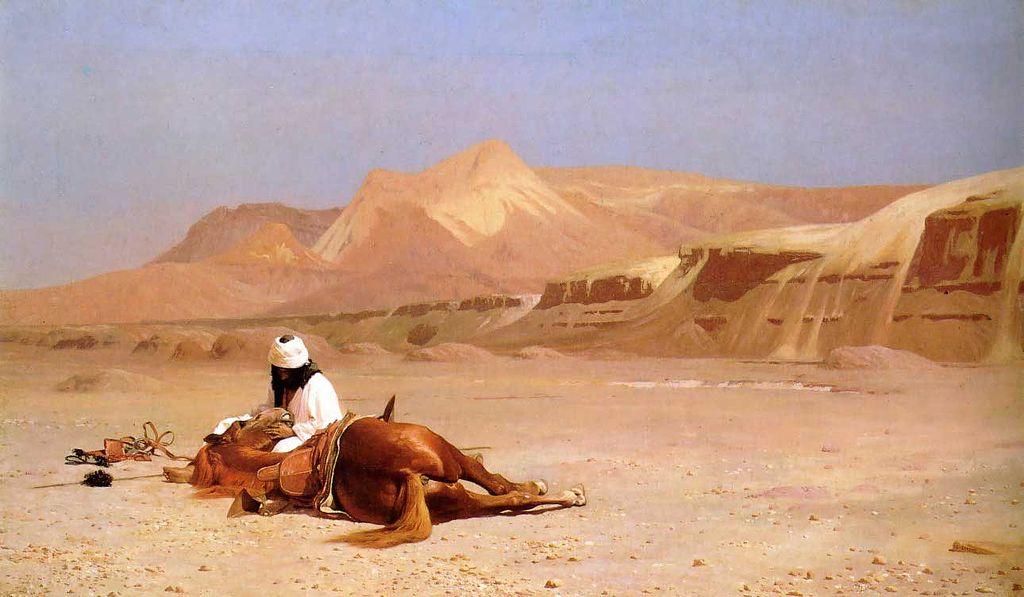 1024px-Gérôme_-_The_Arab_and_his_Steed
