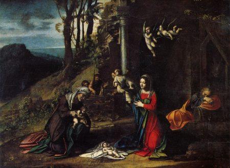 Correggio – Natività Con I Santi Elisabetta E Giovannino – 1512