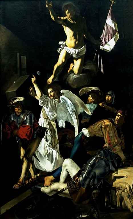 Cecco_del_Caravaggio_Resurrección_Chicago_Oriental_Institute_Museum