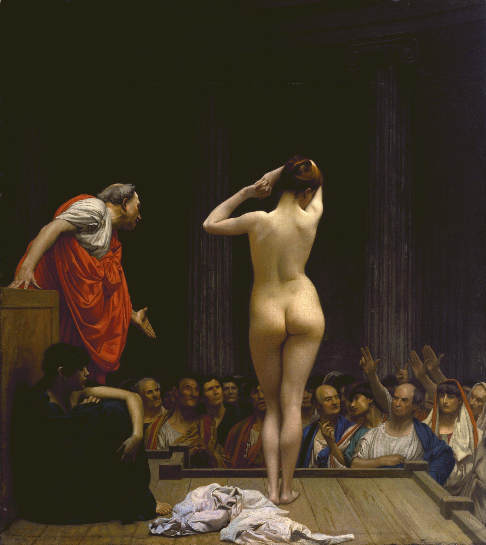 a-roman-slave-market-by-jean-lc3a9on-gc3a9rome
