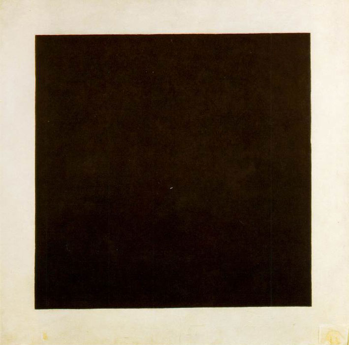 Quadro nero su fondo bianco, Malevič (1915)