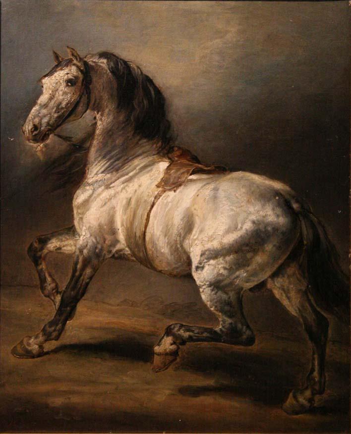 Géricault-étude_de_cheval_gris
