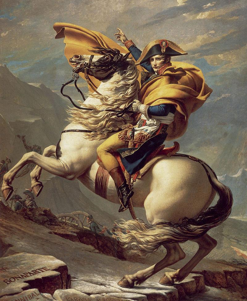 Il Primo Console supera le Alpi al Gran San Bernardo, 1801, Malmaison