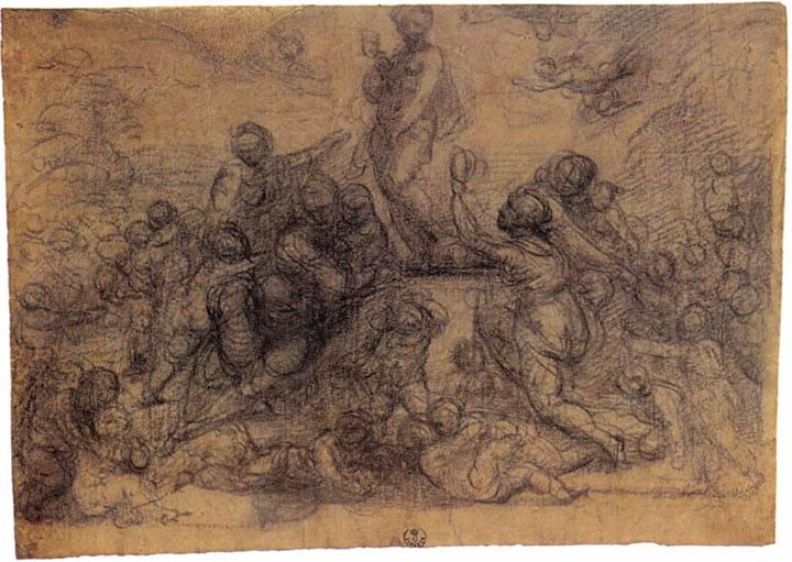fra bartolomeo il trionfo di venere 1517