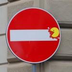 Clet Abraham, cartelli animati a Firenze
