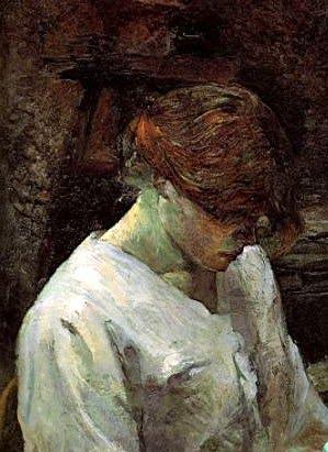 Carmen Gaudin 1889Henri de Toulouse-Lautrec