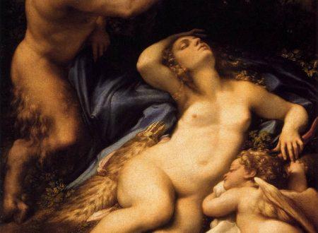 Quando si parla del Coreggio – Venere E Amore Spiati Da Un Satiro – 1528