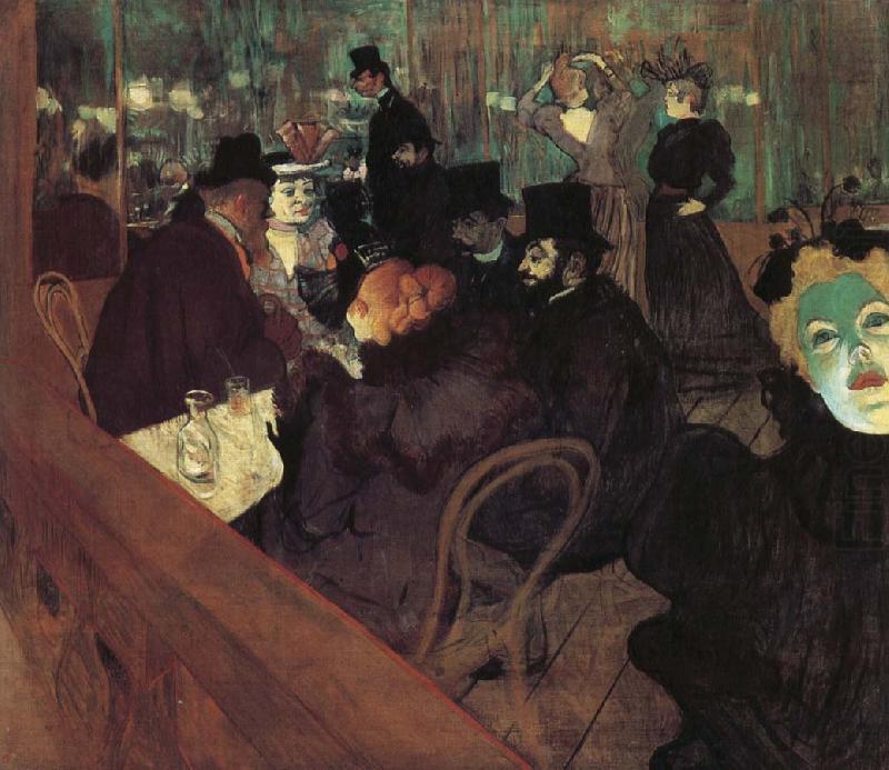 Henri de Toulouse-Lautrec, Al Moulin Rouge, 1892