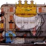 """Dalla parte di """"Blu"""" – Graffiti, Bologna"""