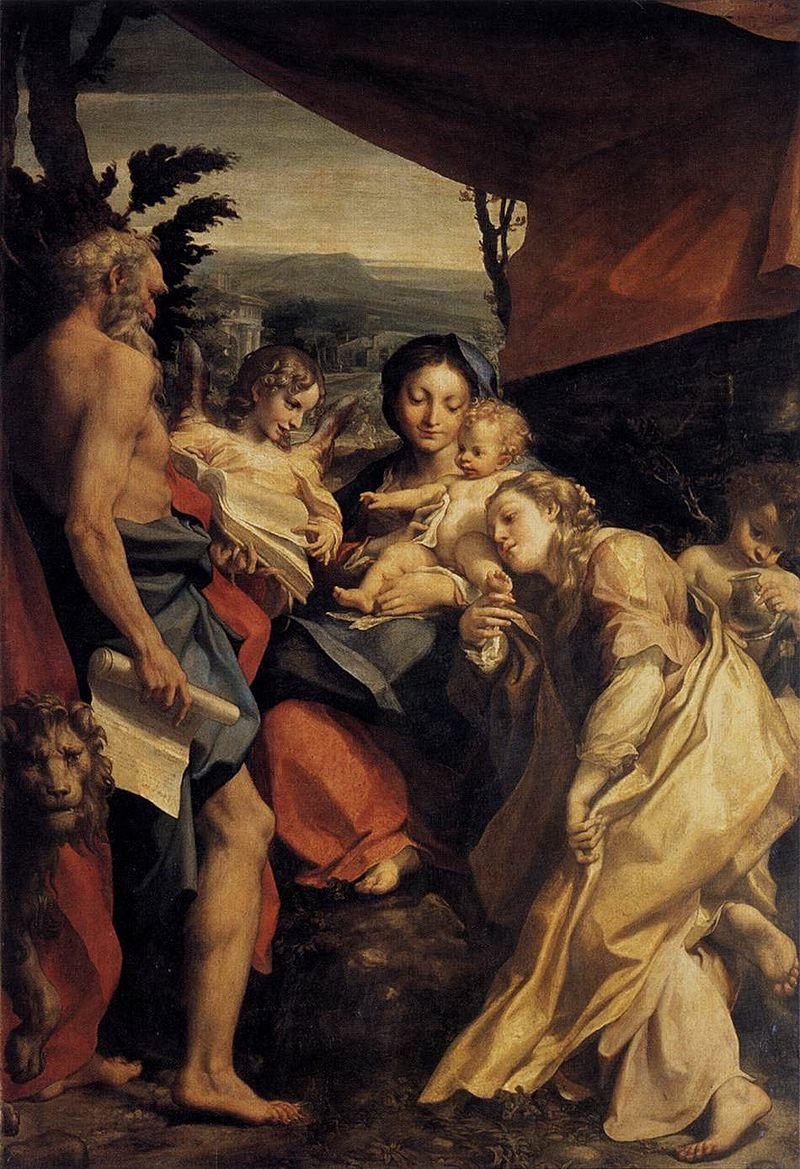 Madonna di San Girolamo (il Giorno)1528