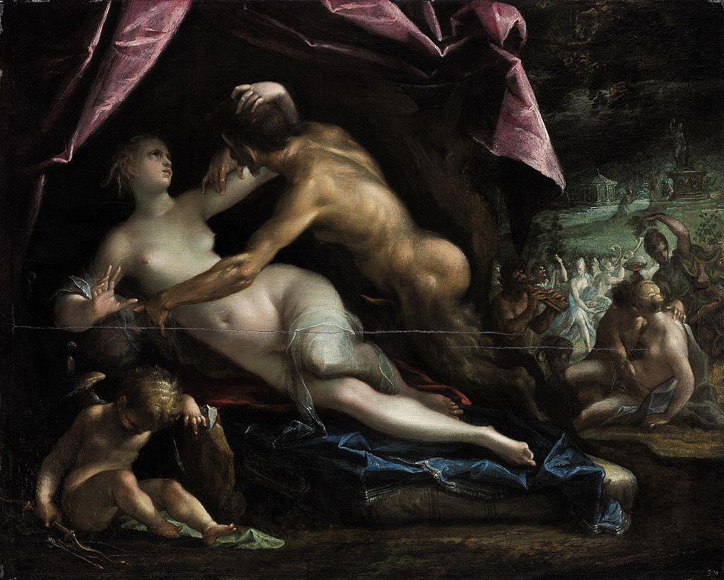 Pan and Selene. 1600-1605.