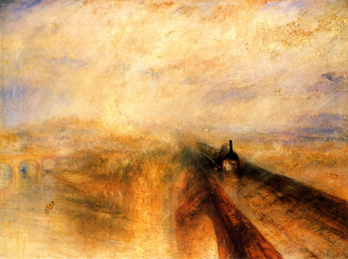 William Tuner, Pioggia, vapore e velocità1844
