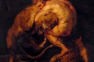 Rubens – Ercole e il leone Nemeo