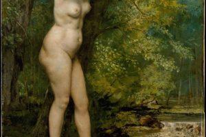Gustave Courbet – Jeune Baigneuse – 1866