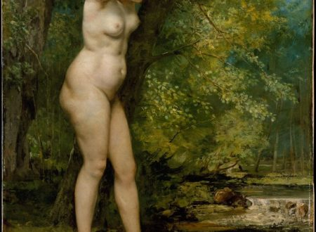 Gustave Courbet – Jeune Baigneuse – 1866