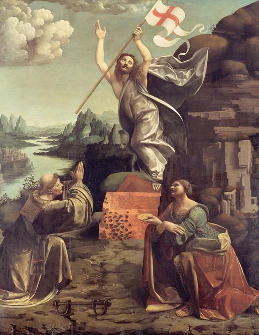 Giovanni Antonio Boltraffio e Marco d'Oggiono una pala per l'altare maggiore che fu consegnata dai due artisti nel 1494.