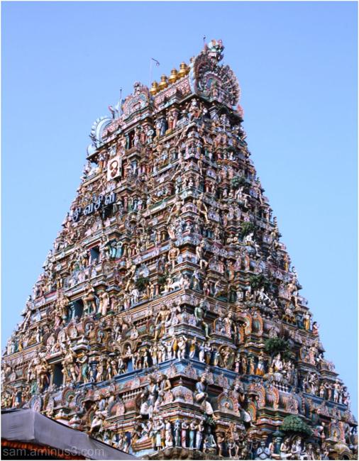 Mylapore Temple Gopuram Chennai