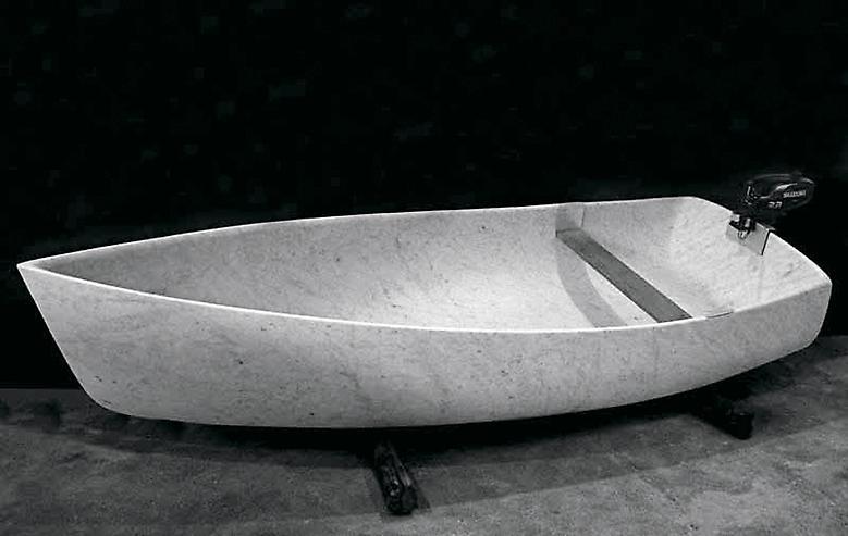 Fabio Viale Ahgalla III, 2008 marble an