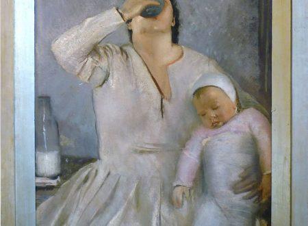 Pietro Gaudenzi  – Mamma E Bambino – 1920 circa