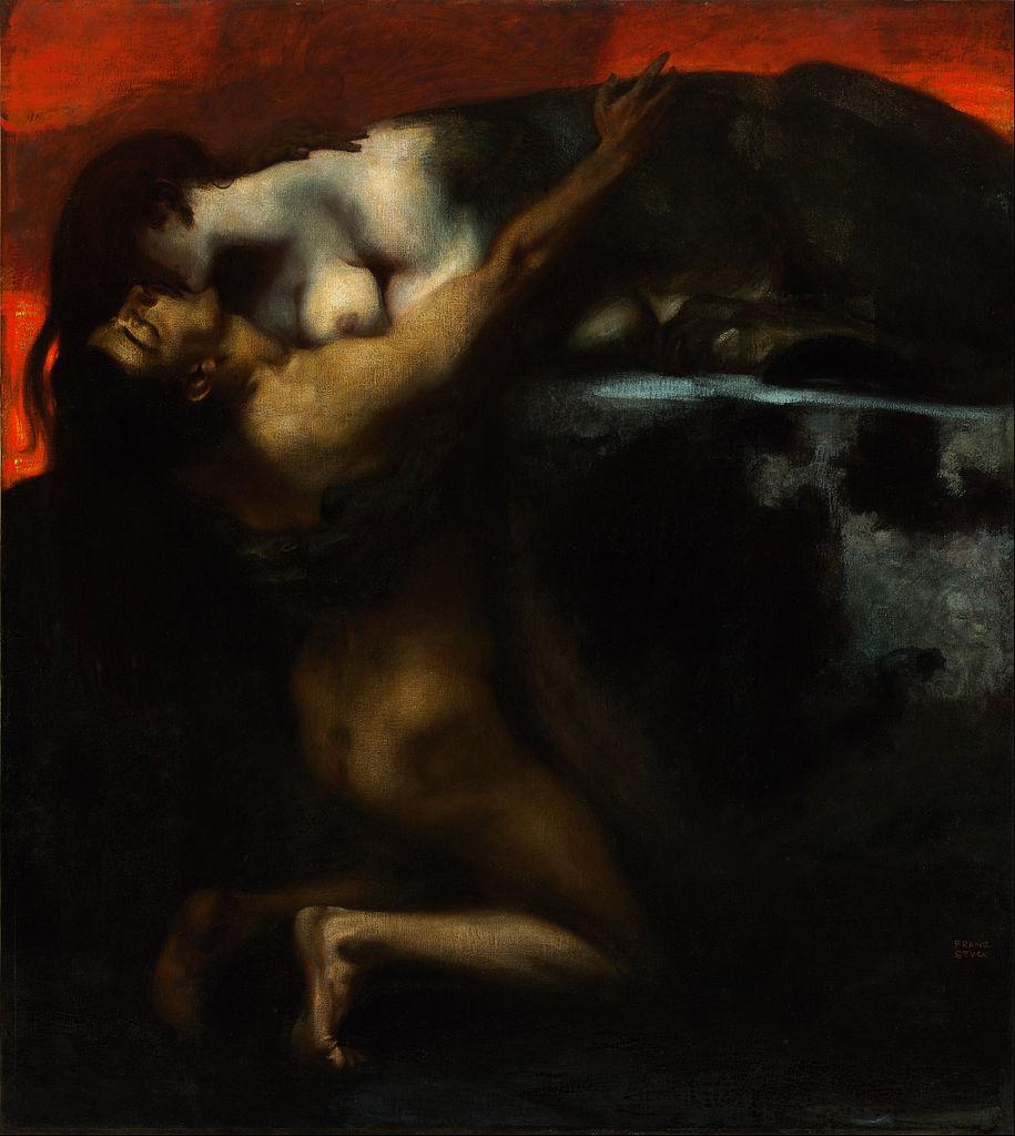 915px-Franz_von_Stuck_-_The_Kiss_of_