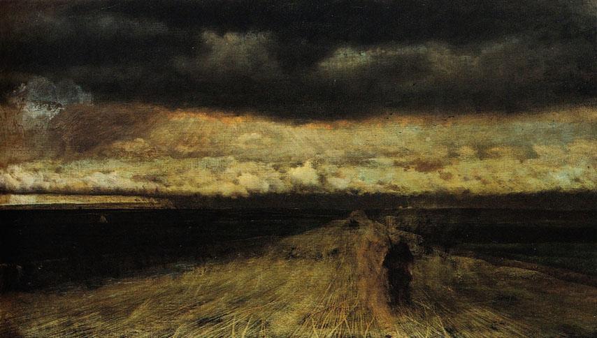 l'avvicinarsi del temporale 1868