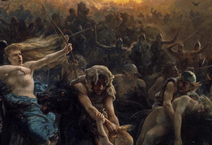 NOR Åsgårdsreien, ENG The wild Hunt of Odin