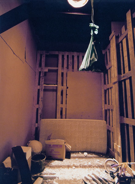 Rheydt 1985 - 2001, 24 constructed rooms, mixed media (8,5x18,5x22m (LxWxH)), Deutscher Pavillon, 49. Biennale Venedig, Venezia, Italy 10.06.2001 - 04.11.2001