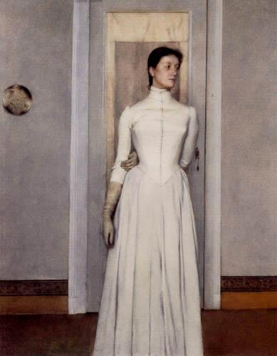 fernand-khnopff-ritratto-di-marguerite1887