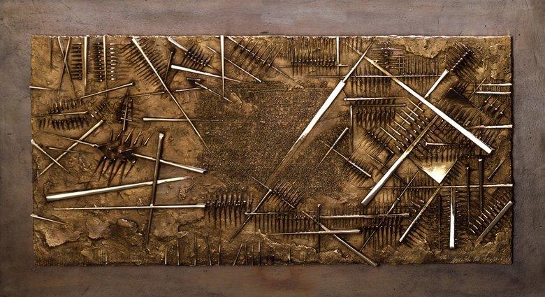 Frammento V - da L'Arte dell'uomo primordiale di Emilio Villa, 2004